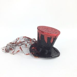 Alice in Wonderland Mad Hatter Clip In Hat NEW